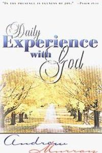 Daily Experience With God MURRAY - Andrew