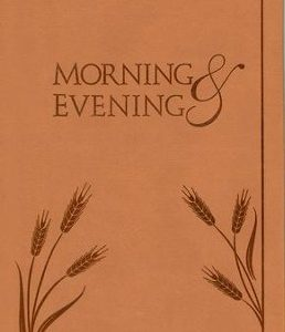 Morning & Evening - Leather SPURGEON CH
